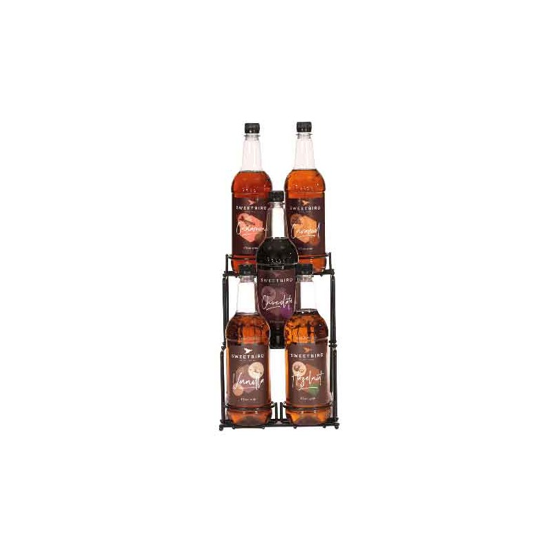 Syrup display stand