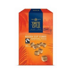 Tate & Lyle Demerara Rough Cut sugar Cubes
