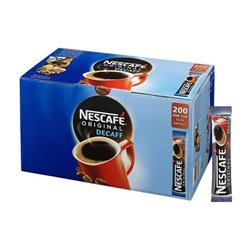 NESCAFE ONE CUP DECAF STICKS 200