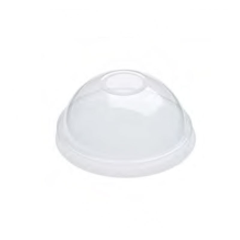 Clear Cold Drink Domed Lids
