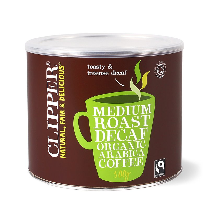 CLIPPER INSTANT DECAF FAIRTRADE COFFEE (4 x 500g)