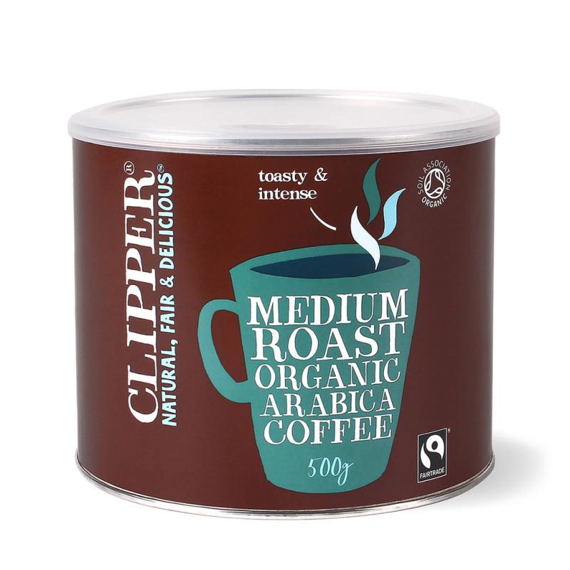 CLIPPER INSTANT FAIRTRADE COFFEE (4 X 500g)