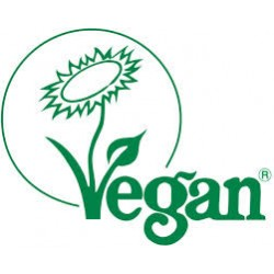 Registered for vegetarians and vegans by The Vegan Society.
