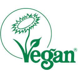 Registered for vegetarians and vegans by The Vegan Society.
